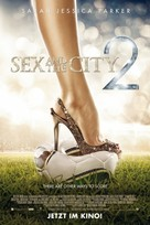 Sex and the City 2 - German Movie Poster (xs thumbnail)