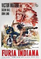 Chief Crazy Horse - Italian Movie Poster (xs thumbnail)