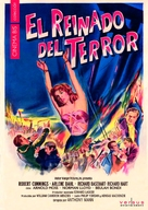 Reign of Terror - Spanish Movie Cover (xs thumbnail)