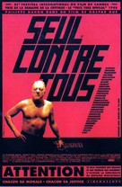 Seul contre tous - French Movie Poster (xs thumbnail)