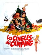 Carry on Camping - French Movie Poster (xs thumbnail)