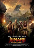Jumanji: Welcome to the Jungle - Dutch Movie Poster (xs thumbnail)