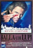 Dances with Wolves - Italian DVD cover (xs thumbnail)