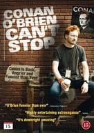 Conan O'Brien Can't Stop - Danish DVD cover (xs thumbnail)