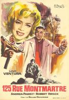 125 rue Montmartre - Spanish Movie Poster (xs thumbnail)