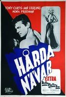 Flesh and Fury - Swedish Movie Poster (xs thumbnail)