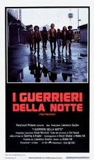 The Warriors - Italian Theatrical movie poster (xs thumbnail)