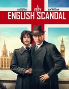 A Very English Scandal - British DVD movie cover (xs thumbnail)