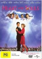 Heart and Souls - Australian DVD movie cover (xs thumbnail)