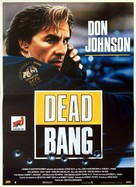 Dead Bang - French Movie Poster (xs thumbnail)