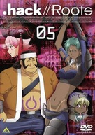 """"""".hack//Roots"""" - Japanese Movie Cover (xs thumbnail)"""