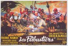 The Buccaneer - French Movie Poster (xs thumbnail)