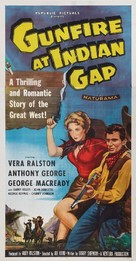 Gunfire at Indian Gap - Movie Poster (xs thumbnail)