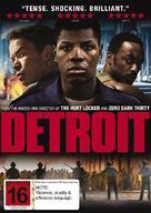 Detroit - New Zealand DVD movie cover (xs thumbnail)