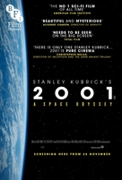 2001: A Space Odyssey - British Re-release poster (xs thumbnail)