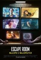 Escape Room: Tournament of Champions - Polish Movie Poster (xs thumbnail)