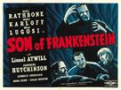 Son of Frankenstein - British Re-release movie poster (xs thumbnail)