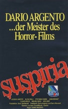 Suspiria - German VHS movie cover (xs thumbnail)