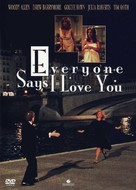 Everyone Says I Love You - DVD cover (xs thumbnail)