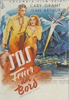 Only Angels Have Wings - German Movie Poster (xs thumbnail)