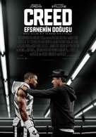 Creed - Turkish Movie Poster (xs thumbnail)