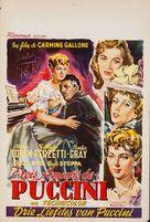 Puccini - Belgian Movie Poster (xs thumbnail)