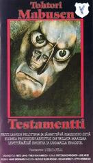 Das Testament des Dr. Mabuse - Finnish Movie Cover (xs thumbnail)