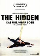 The Hidden - German Movie Poster (xs thumbnail)
