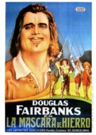 The Iron Mask - Spanish Movie Poster (xs thumbnail)