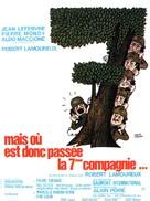 Mais où est donc passèe la septiéme compagnie? - French Movie Poster (xs thumbnail)