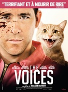 The Voices - French Movie Poster (xs thumbnail)