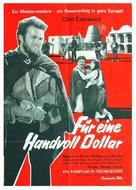 Per un pugno di dollari - German Movie Poster (xs thumbnail)