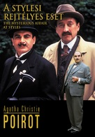 """Poirot"" The Mysterious Affair at Styles - Hungarian Movie Cover (xs thumbnail)"