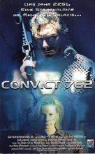 Convict 762 - German VHS movie cover (xs thumbnail)