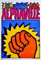 Alphaville, une étrange aventure de Lemmy Caution - Polish Movie Poster (xs thumbnail)