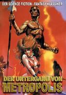 Il gigante di Metropolis - German DVD cover (xs thumbnail)