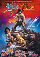 Fire and Ice - Spanish DVD cover (xs thumbnail)