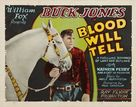 Blood Will Tell - Movie Poster (xs thumbnail)