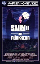 A Return to Salem's Lot - German VHS cover (xs thumbnail)