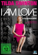 Io sono l'amore - German DVD cover (xs thumbnail)