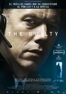 Den skyldige - Spanish Movie Poster (xs thumbnail)