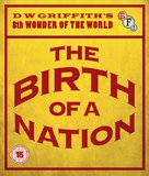 The Birth of a Nation - British Blu-Ray cover (xs thumbnail)