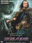Highlander - Czech DVD cover (xs thumbnail)
