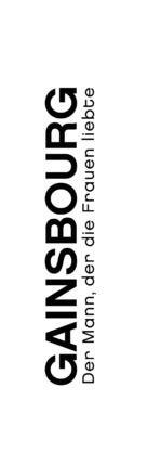 Gainsbourg (Vie héroïque) - German Logo (xs thumbnail)