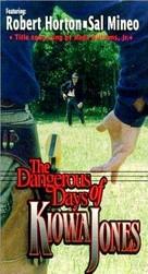The Dangerous Days of Kiowa Jones - VHS cover (xs thumbnail)