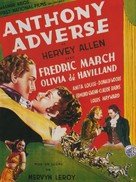 Anthony Adverse - French Movie Poster (xs thumbnail)
