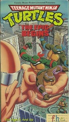 """Teenage Mutant Ninja Turtles"" - VHS movie cover (xs thumbnail)"
