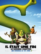 Shrek Forever After - French Movie Poster (xs thumbnail)