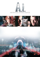 Artificial Intelligence: AI - DVD movie cover (xs thumbnail)