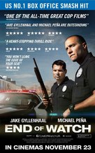 End of Watch - British Movie Poster (xs thumbnail)
